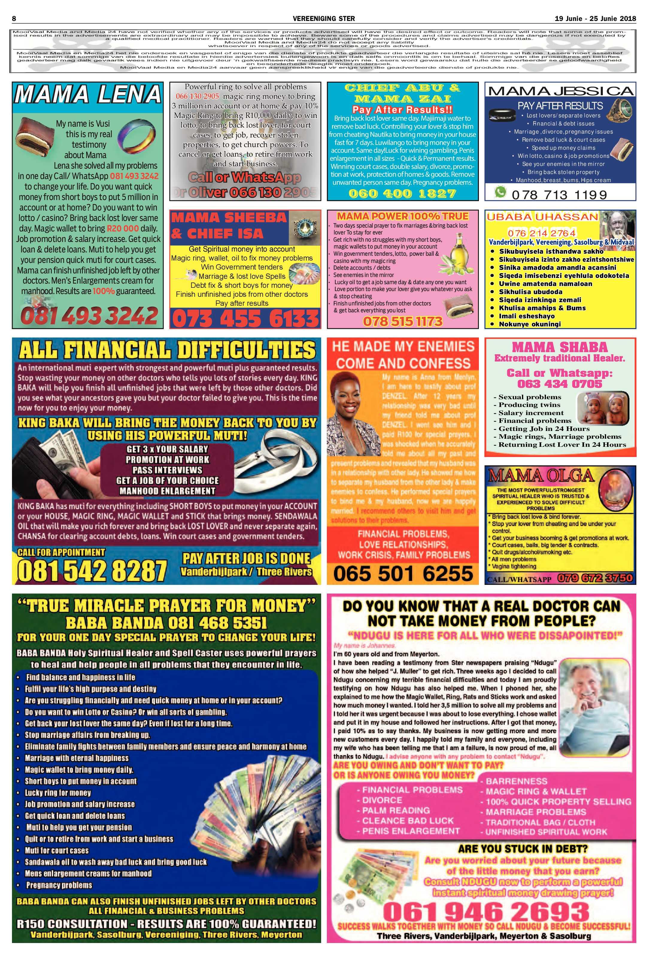 Vereeniging Ster 19 - 25 Junie 2018 - vaalweekblad